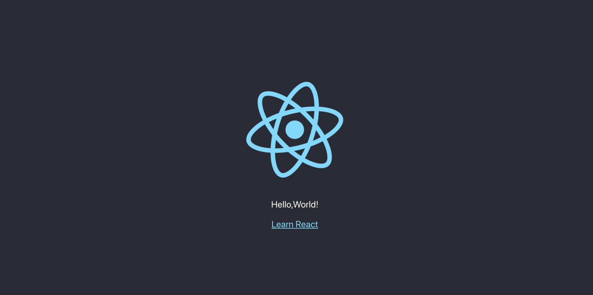 create-react-app の中身を解説。「hello world」を出力してみよう